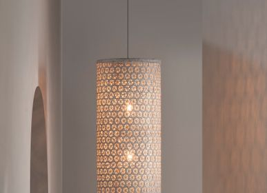 Objets design - HACIENDA CRAFTS Lampe suspendue à tube noisette  - DESIGN PHILIPPINES HOME