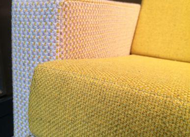 Upholstery fabrics - PANAMA WOOL tissu laine - BISSON BRUNEEL