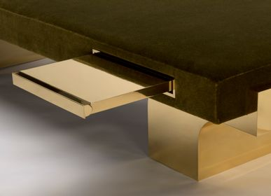 Benches for hospitalities & contracts - QUIET MERIDIAN - MAISON POUENAT