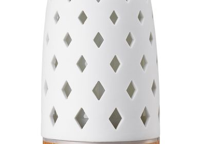 Scent diffusers - Diamond Ultrasonic Diffuser with Lightwood Base 90ml - SERENE HOUSE