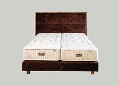 Lits - Tête de lit FUSAIN - BONNET MANUFACTURE DE LITERIE