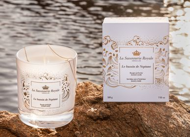 Gifts - Scented candle Le Bassin de Neptune with a necklace or bracelet - LA SAVONNERIE ROYALE