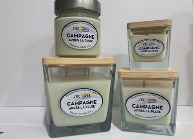 Candles - Scented candles 100% vegetable soy wax EU standards - L'ECHOPPE BUISSONNIERE