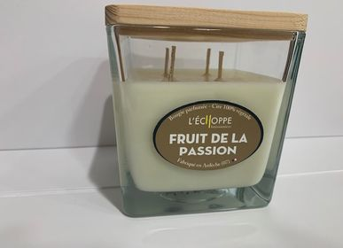 Candles - Bougies parfumées cire 100 % végétale de soja normes UE - L'ECHOPPE BUISSONNIERE