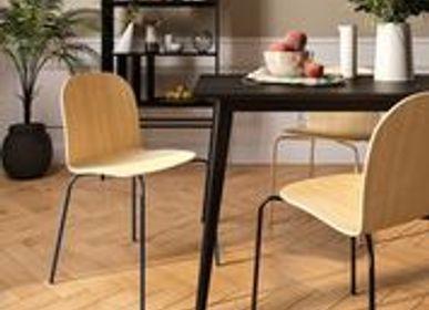 Chairs - La Chaise CL10 Noire - LA CHAISE FRANÇAISE