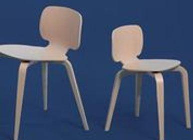 Chairs - La Chaise H10 Rose - LA CHAISE FRANÇAISE