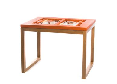 Decorative objects - Backgammon table I Buffalo leather - HECTOR SAXE PARIS DEPUIS 1978