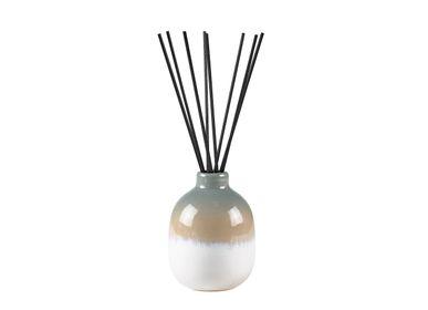 Scent diffusers - Fragrance oil D7x10cm 150ml Blue Ceramics - VILLA COLLECTION