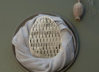 Objets de décoration - Dessous de verre en laiton | VARVA - NAMUOS