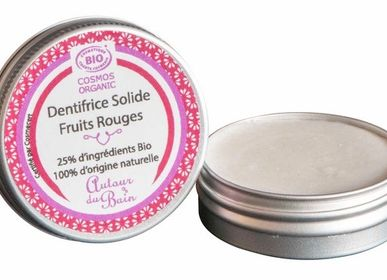 Beauty products - Red Fruit Solid Toothpaste - refillable - AUTOUR DU BAIN