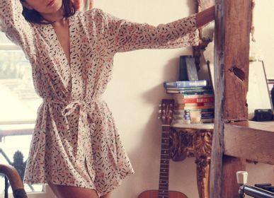 Homewear - Kimono Juliette en fibre de lait. - GERMAINE DES PRES