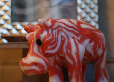 Decorative objects - HIPPO RED WEB CANDLE - KANDHELA