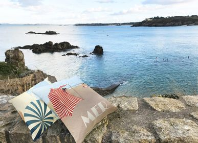 Fabric cushions - Seaside - ART DE LYS