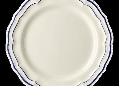 Assiettes au quotidien - Assiettes plates extra - Filet Cobalt  - GIEN