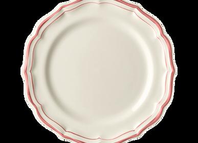 Assiettes au quotidien - Assiettes dessert - Filet Corail - GIEN