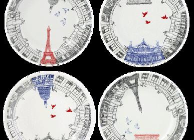 Assiettes au quotidien - Assiettes dessert assorties - Ca C'est Paris - GIEN