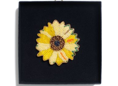 Gifts - Sunflower 02 brooch - HELLEN VAN BERKEL