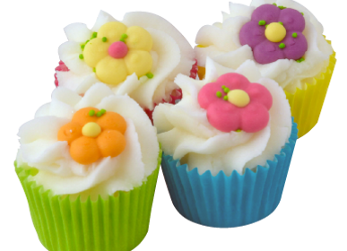 Beauty products - Mini Cupcake Like a Garden  - AUTOUR DU BAIN