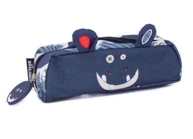Bags and backpacks - 1 ZIP PENCIL CASE HIPPIPOS THE HIPPO - LES DEGLINGOS