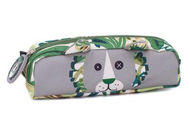 Bags and backpacks - PENCIL CASE JELEKROS THE LION - LES DEGLINGOS