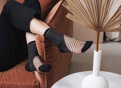 Chaussettes - Shibuya Black Chaussette - ATELIER ST EUSTACHE