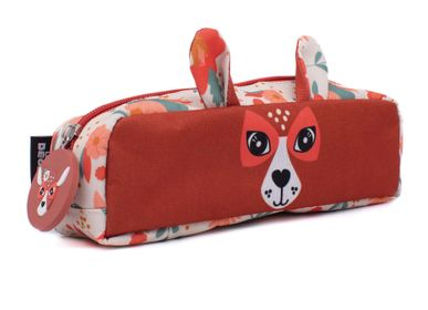 Leather goods - PENCIC CASE MELIMELOS THE DEER - LES DEGLINGOS