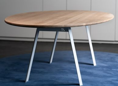 Dining Tables - Oval oak table - Topp and Legg - BELGIUM IS DESIGN