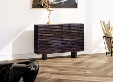Sideboards - Cabinet of Ebonized and Polished Resin - JONATHAN FIELD