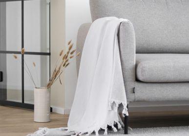 Plaids - Serviette en coton organique 100x180cm - LUIN LIVING