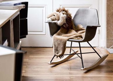 Fauteuils - hauteville - rocking chair en béton - LYON BÉTON