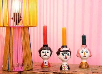Objets de décoration - Bougeoir Carlos, Conchita & Marisol - KITSCH KITCHEN