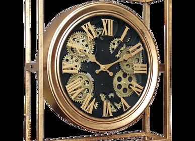 Horloges - HORLOGE MECANISME METAL ENCADRE 38X11X42 - EMDE
