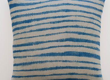 Fabric cushions - Marinière - ATELIER SOLVEIG