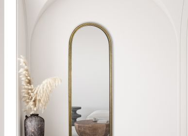 Mirrors - GOLDEN MIRROR 170X60CM  - EMDE