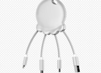 Accessoires de voyage - Câble usb - Octopus Booster Blanc - XOOPAR