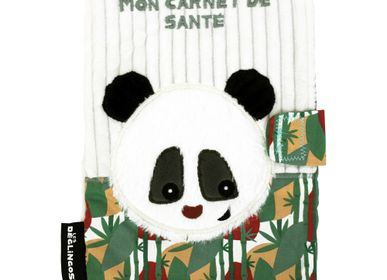 Childcare  accessories - Health Book Cover Rototos the Panda - LES DEGLINGOS
