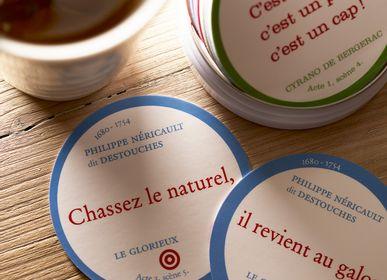 Children's games - LES TIRADES CÉLÈBRES / En partenariat avec la COMÉDIE FRANÇAISE - jeu de cartes - LILY POULE