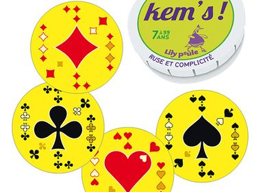Children's games - KEM'S - card game - LILY POULE