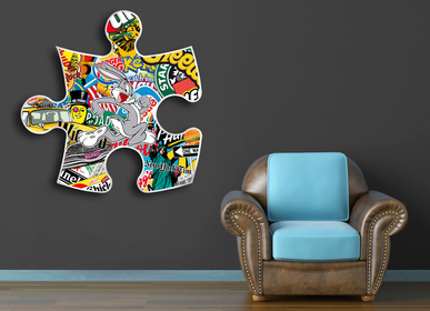 Decorative objects - Puzzle Bunny - SPENCER