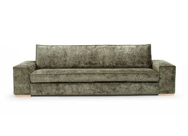 Design objects - Composable sofa Lounge green  - SOFAREV