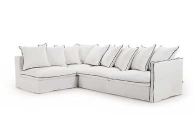 Design objects - Composable sofa Cocoon white - SOFAREV