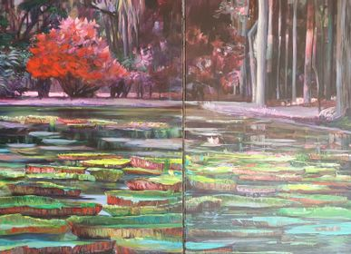 Paintings - Water lilies - ARTBOULIET