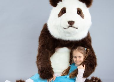 Unique pieces - Panda Bear realistic plush - KATERINA MAKOGON