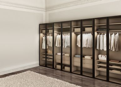 Wardrobe - ATLANTE wardrobe with WIND doors - EMMEBI HOME ITALIAN STYLE