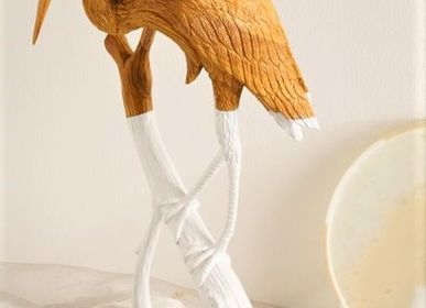 Sculptures, statuettes and miniatures - JB+ Alcornoque Heron  - KINDRED DESIGN COLLECTIVE FURNITURE