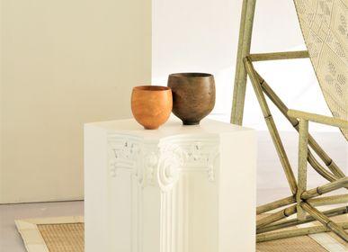 Sculptures, statuettes et miniatures - JB+ Tabouret Colonne  - KINDRED DESIGN COLLECTIVE FURNITURE