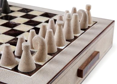 Caskets and boxes - LA GALUCHE Chess Box Board Game  - KINDRED DESIGN COLLECTIVE FURNITURE