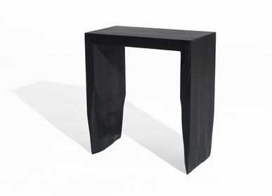 Stools - Black oak stool - Robin Berrewaerts - BELGIUM IS DESIGN