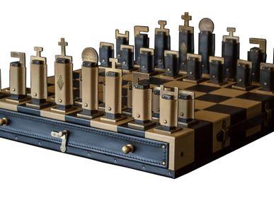 Unique pieces - P&B's Gambit chess set - P&B VALISES