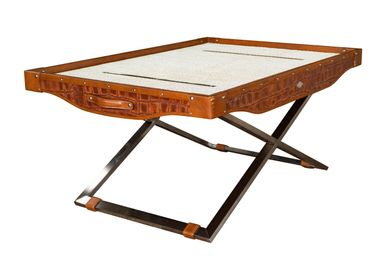Coffee tables - Carriage Rectangular Coffee Table - P&B VALISES